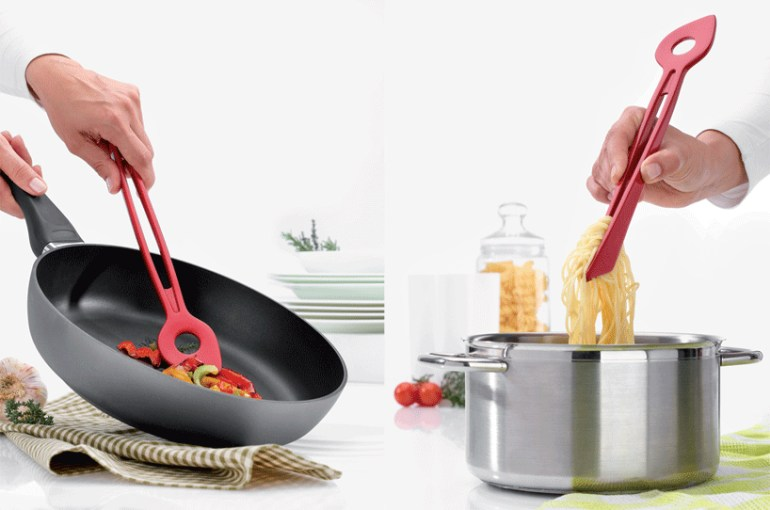 Chef2 spoon tongs 13 - cook