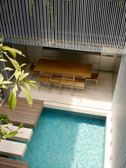 ห้องแถวเก่ายุค art deco ที่เชื่อมโยงเอาความเก่า ความทันสมัย และธรรมชาติ มาอยู่ร่วมกันได้แบบลงตัวที่สุด 13 - Art Deco