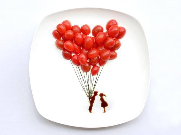 ไอเดียสร้างภาพศิลปะจากอาหารบน instagram โดยสถาปนิกชาวมาเลเซีย 13 - Instagram