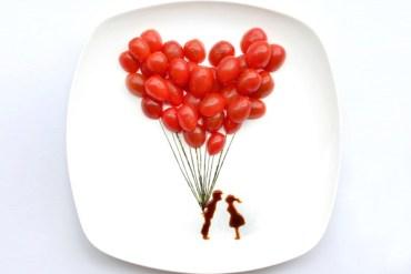 ไอเดียสร้างภาพศิลปะจากอาหารบน instagram โดยสถาปนิกชาวมาเลเซีย 29 - Instagram