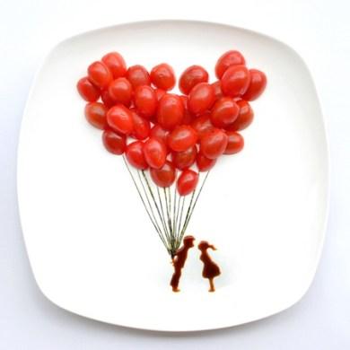 ไอเดียสร้างภาพศิลปะจากอาหารบน instagram โดยสถาปนิกชาวมาเลเซีย 16 - Instagram