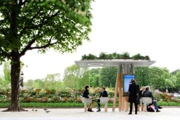 งานออกแบบ Wi-Fi stations ..ในกรุงปารีส สวยงามร่มรื่น น่านั่งยิ่งนัก 10 - Wi - Fi