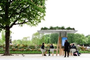 งานออกแบบ Wi-Fi stations ..ในกรุงปารีส สวยงามร่มรื่น น่านั่งยิ่งนัก 13 - wi-fi station