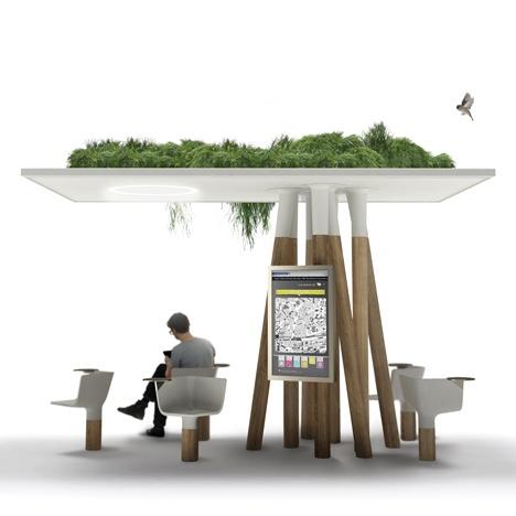 25560320 095229 งานออกแบบ Wi Fi stations ..ในกรุงปารีส สวยงามร่มรื่น น่านั่งยิ่งนัก