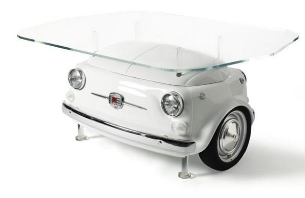 25560325 160734 เฟอร์นิเจอร์ จากรถ Fiat 500
