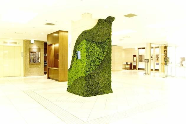 Art of Plants For Isetan Japan Department Store 6 สวนแนวตั้ง ART OF PLANTS ในห้าง ISETAN ที่ญี่ปุ่น
