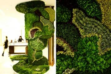 สวนแนวตั้ง ART OF PLANTS ในห้าง ISETAN ที่ญี่ปุ่น 6 - ART OF PLANTS
