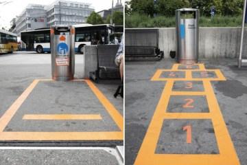 """""""Lucerne Shines"""" ไอเดียส่งเสริมให้คนในเมืองเห็นว่า """"การทิ้งขยะ"""" เป็นเรื่องง่ายๆ"""