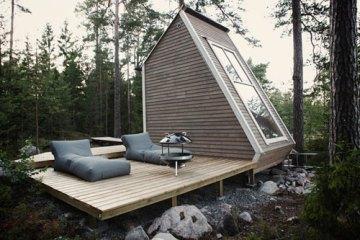 บ้านขนาดเล็กเพียง 96 ตร.ฟุต หลังนี้ ทำได้อย่างไร 2 - micro cabin