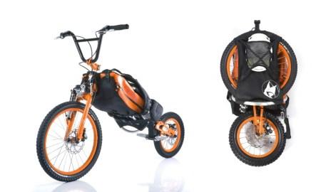 backpack 450x270 Folding Backpack Bike แบกได้ปั่นได้กับ จักรยาน แบ็กแพ็จเกอร์