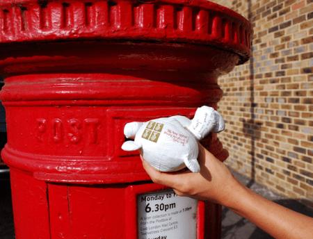 feeldesain paper bear 16 450x344 Paper Teddy Bear ส่งจดหมายด้วย จดหมายตุ๊กตาหมี