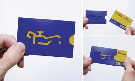 lube card 450x270 Create Name Card ไอเดียทำนามบัตร