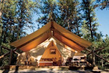 Glamour Camping ที่พักสำหรับผู้คนที่รักในการนอนค้างแรม และอยากใกล้ชิดธรรมชาติ