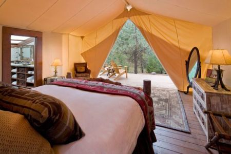 tent 5 450x300 Glamour Camping ที่พักสำหรับผู้คนที่รักในการนอนค้างแรม และอยากใกล้ชิดธรรมชาติ