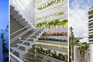 สวนแนวตั้ง คือ บ้านของเรา ณ Ho Chi Minh City 16 - vertical garden