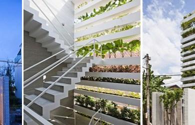 สวนแนวตั้ง คือ บ้านของเรา ณ Ho Chi Minh City 22 - Architecture