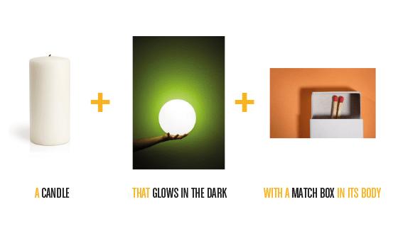 077f52006340a1c5e8d895bc8e3b1b62 Blackout เทียนเรืองแสง มีที่เก็บกล่องไม้ขีดในตัว..ไอเดียฉลาดๆรับมือไฟดับ ฉุกเฉิน