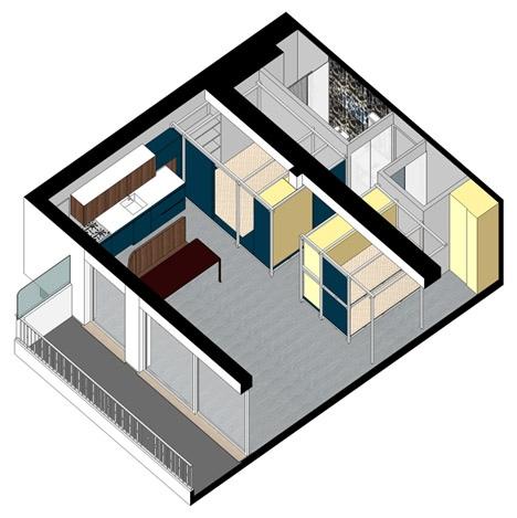 25560403 082703 Fun House บ้านนี้..สนุกจัง แม้มีพื้นที่เพียง 40 ตรม.