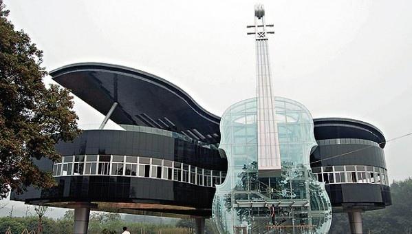 25560415 230654 Piano House in Huainan..ตึกนี้สำหรับคนรักดนตรี