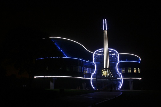 25560415 231549 Piano House in Huainan..ตึกนี้สำหรับคนรักดนตรี