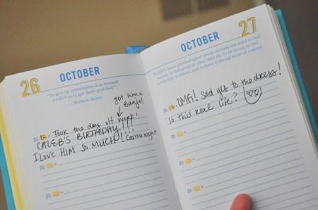 DSC 0342 450x298 The happiness project   One sentence journal บันทึกไดอารี่ พร้อมกับคติแรงบันดาลใจได้ทุกวัน