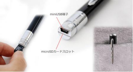 Thanko Spy Pen 450x246 SPY PEN เป็นสายลับด้วยด้ามปากกา