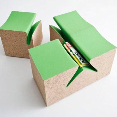 eroded stool ES3 by im LAB..เก้าอี้สตูว์ มีช่องเก็บนิตยสารในตัว 16 - milan design week 2013