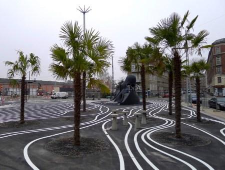 superkilen18 450x341 Superkilen พื้นที่ที่คนในชุมชนช่วยกันเลือกงานออกแบบมาเติมแต่งสวนสาธารณะ