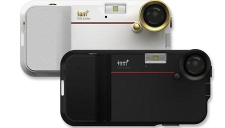 will i am iphone camera 450x256 Will.i.am   i.am+ Foto.sosho Digital Camera Accessories for iPhone 4/4s เคสไอโฟนถ่ายภาพได้แบบ Sport Vintage