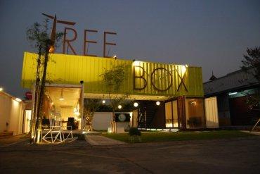 Tree Box ร้านอาหารรูปแบบการดื่มกินภายในตู้คอนเทนเนอร์ 18 - loft