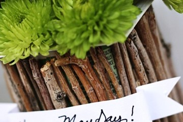 DIY..Recycled May Day Baskets 12 - DIY