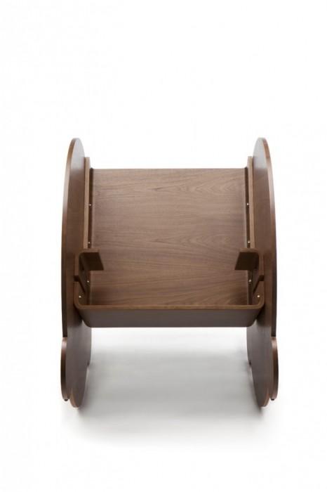25560509 063732 KAARLO I and II เก้าอี้โยก ถอดประกอบได้ ง่ายๆ ด้วยวัสดุไม่กี่ชิ้น