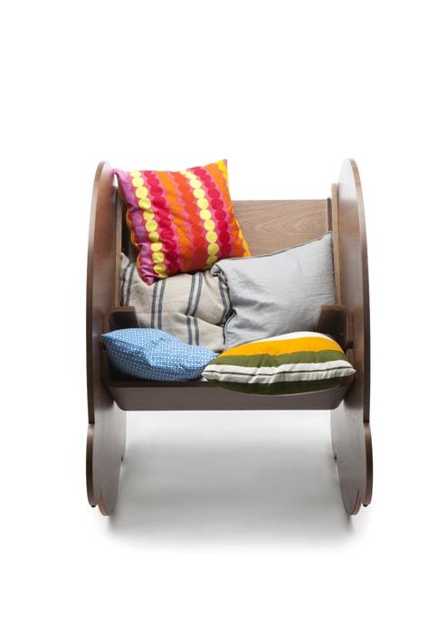 25560509 063747 KAARLO I and II เก้าอี้โยก ถอดประกอบได้ ง่ายๆ ด้วยวัสดุไม่กี่ชิ้น