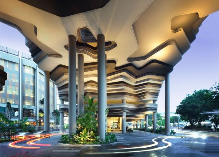 25560523 182241 สวนลอยฟ้า และรูปฟอร์มสวยงาม ที่ PARKROYAL Hotel สิงคโปร์