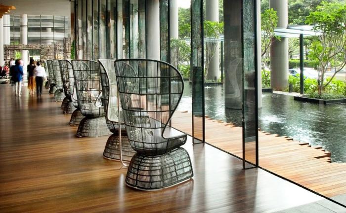 25560523 182415 สวนลอยฟ้า และรูปฟอร์มสวยงาม ที่ PARKROYAL Hotel สิงคโปร์
