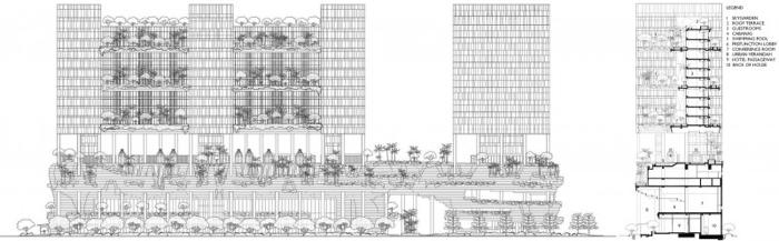 25560523 182657 สวนลอยฟ้า และรูปฟอร์มสวยงาม ที่ PARKROYAL Hotel สิงคโปร์
