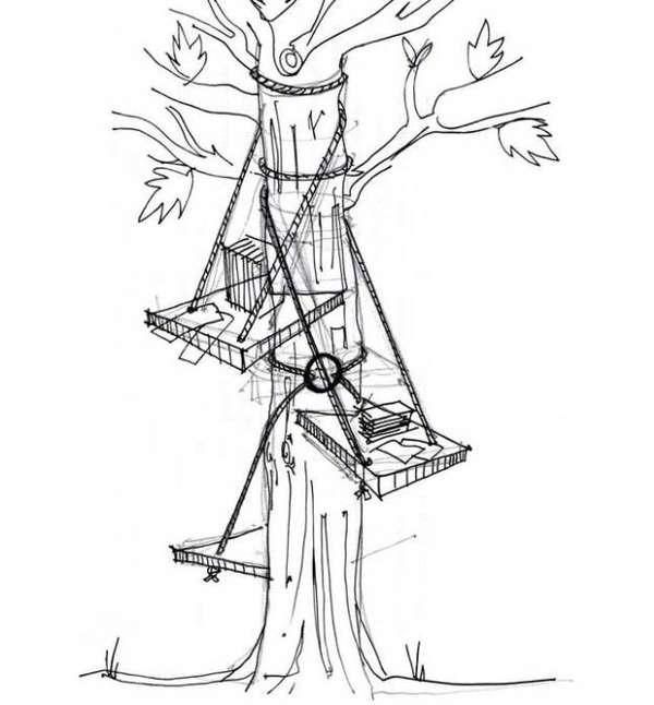 25560528 152448 DIY Tree Seat..ถ้ามีต้นไม้ ก็มีฉัน..