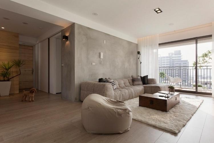 ตกแต่งอพาร์ตเม้นต์แนวร่วมสมัย ในไต้หวัน โดย Fertility Design 13 -