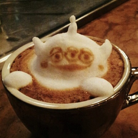 3D Latte Art4 450x451 Incredible latte 3D art