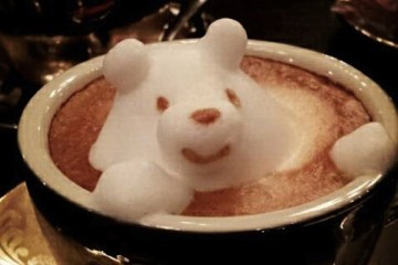 Incredible latte 3D art 30 - 3D