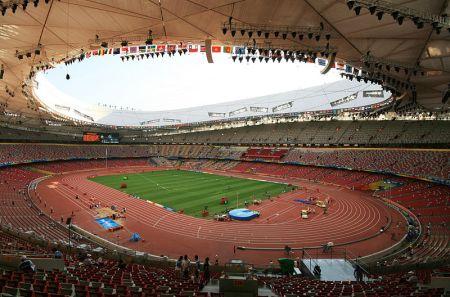 Beijing National Stadium Interior 450x297 สนามกีฬา Beijing National Stadium, Beijing