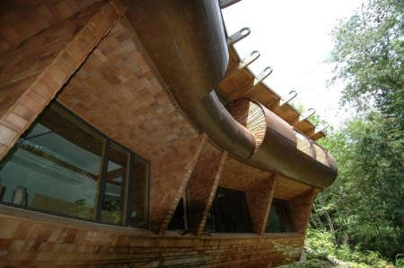 Contemporary Wilkinson Residence Nestled in Portland Oregon Wilderness 11 450x298 The Wilkinson Residence บ้านดนตรีที่พริ้วไหว และความรื่นรมย์จากธรรมชาติ
