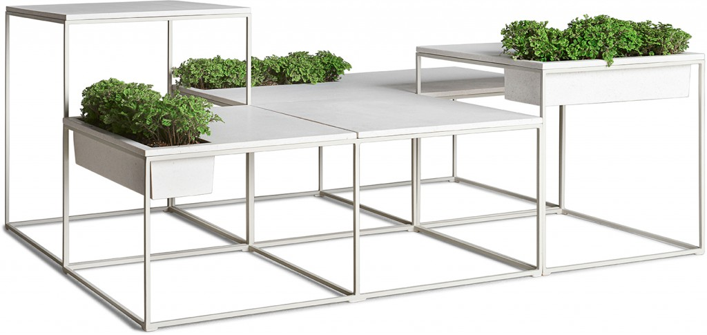 Kaja by Kenneth Cobonpue โต๊ะสำหรับสร้างพื้นที่สีเขียว 20 - Green Area