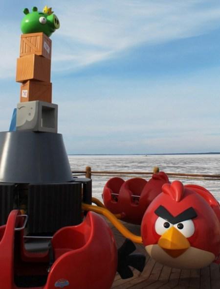 angry birds 2 450x590 และโลกของ Angry Birds Land ก็เกิดขึ้นจริงในโลกมนุษย์