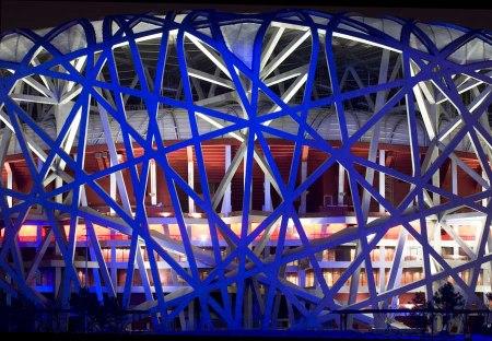 birds nest beijing arup080908 carup crbenmcmillan 1 450x312 สนามกีฬา Beijing National Stadium, Beijing