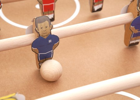 img 9 1368442071 4d0fe405c376f5b57f0caf203dbab1e9 450x321 Foosball table from cardboard
