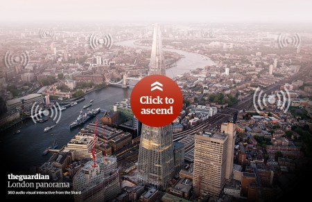 splash2 450x292 The view from the top of the Shard : London panorama of sights and sounds – interactive อยู่ที่ไหนก็มองเห็นทัศนียภาพของลอนดอน