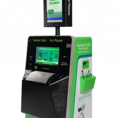 Eco ATM เปลี่ยนโทรศัพท์เก่าให้เป็นเงิน 15 - ATM