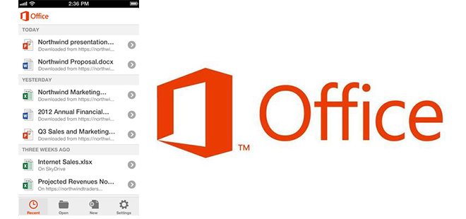 Microsoft ปล่อยแอป Microsoft Office on iOS ให้โหลดฟรี 13 - App store