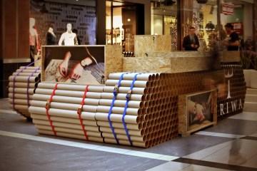 Tube Tank – ร้านค้าสร้างจากท่อกระดาษ ..รีไซเคิล100% ราคาถูก ติดตั้งรวดเร็ว 2 - paper tube